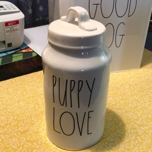 New Rae Dunn Puppy Love Jar